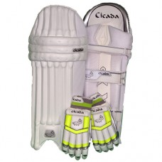 Cicada Impetus Lime Pad n Glove Combo