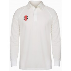 Stone CC Cricket Shirt Long Sleeve