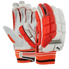 Puma Evo 1 Red Batting Gloves